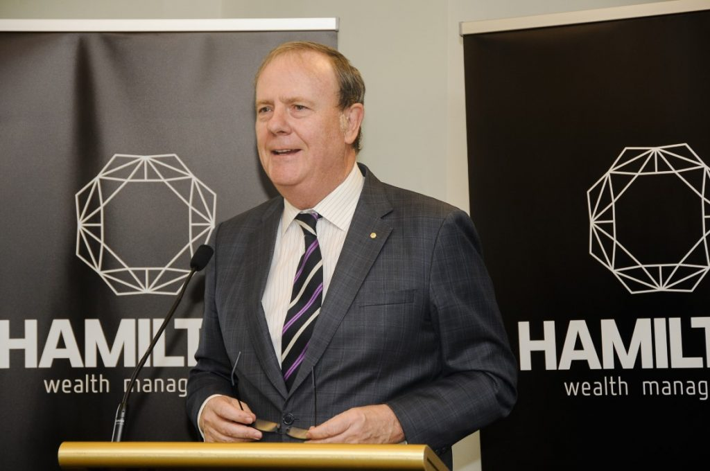Peter Costello AC, October 2016, Breakfast