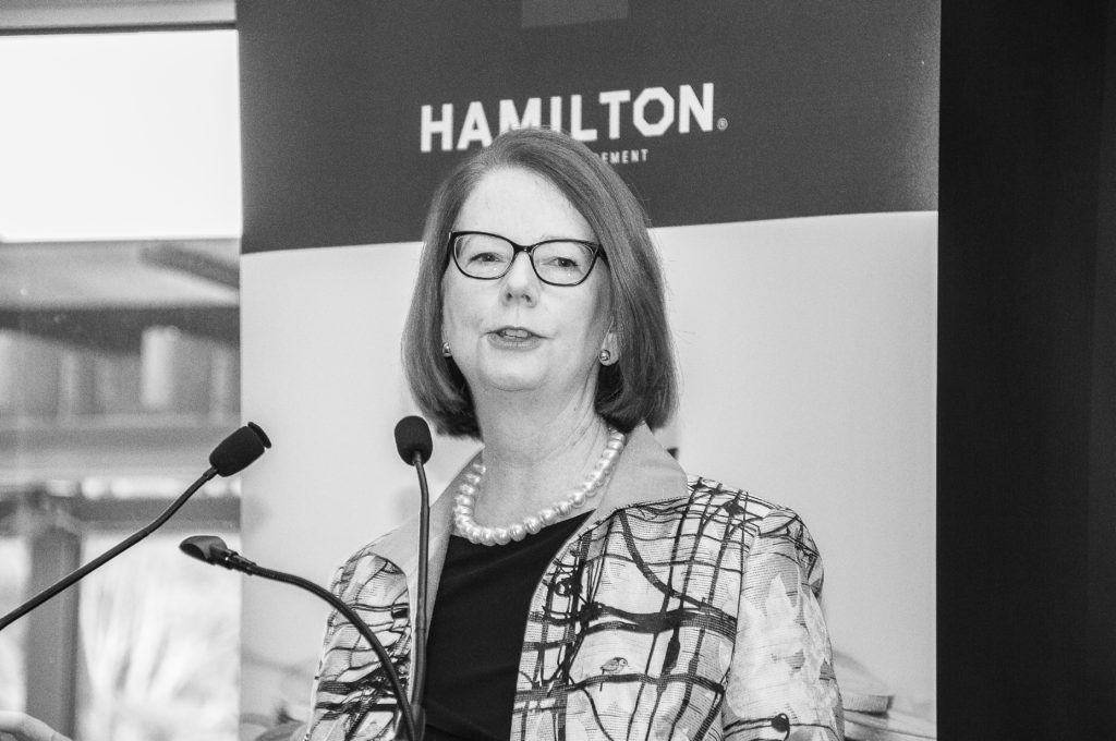 The Hon. Julia Gillard AC, December 2018, Breakfast