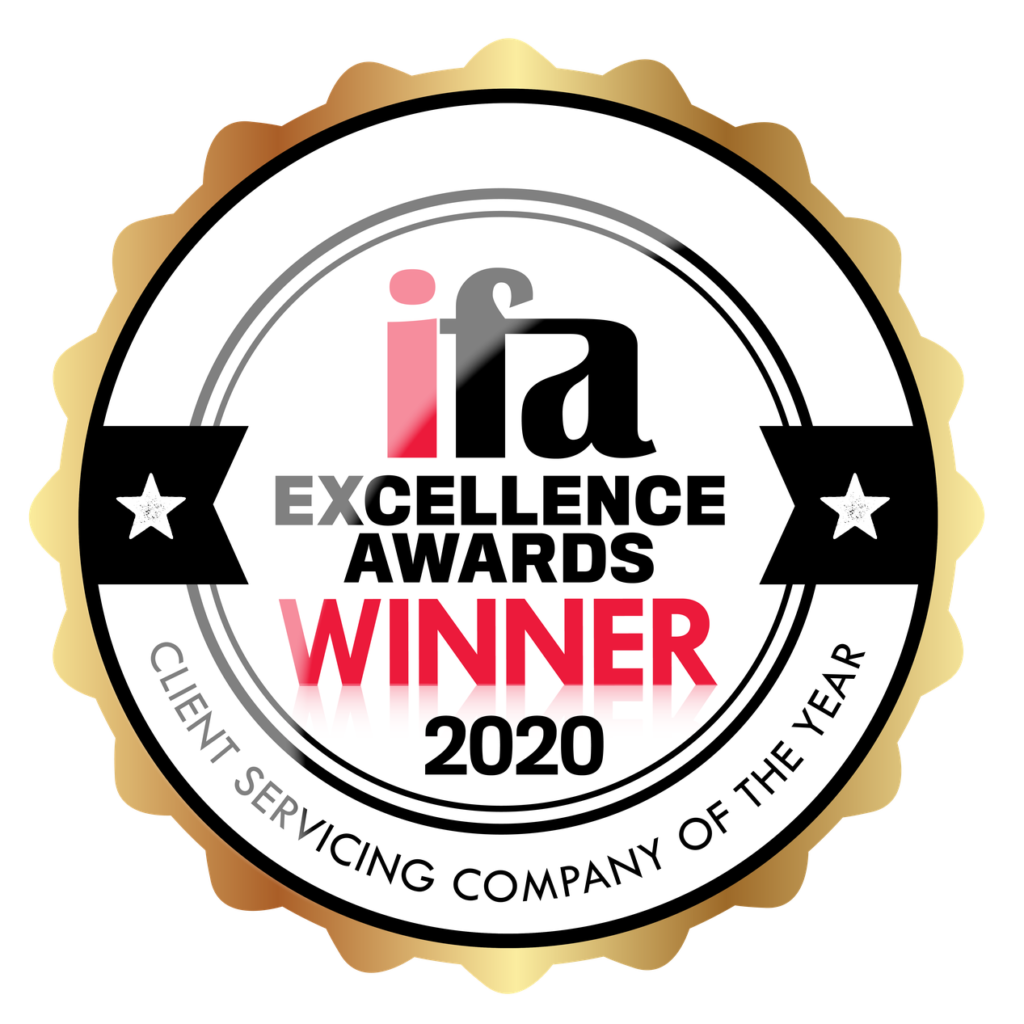 ifa Excellence Awards 2020 – Winner, Client Servicing Company of the Year
