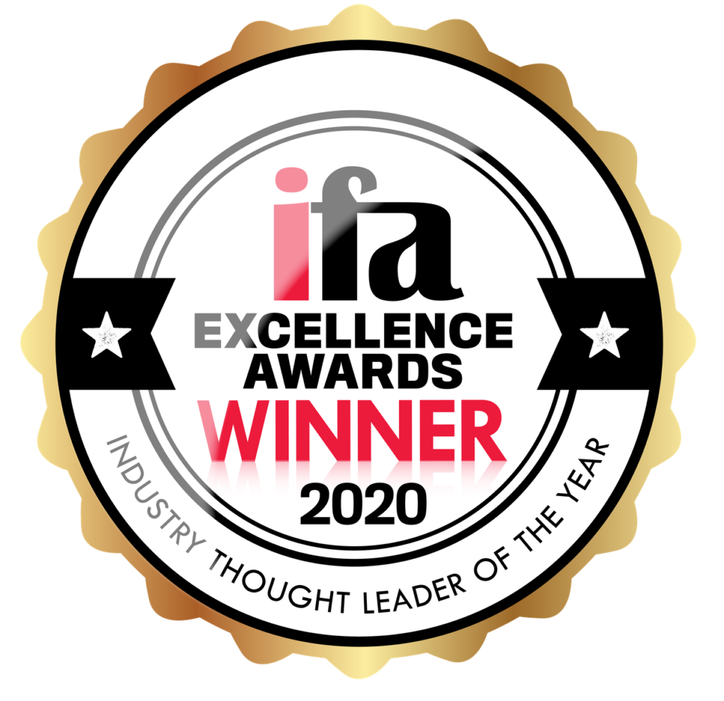 ifa Excellence Awards 2020 – Winner, Industry Thought Leader of the Year